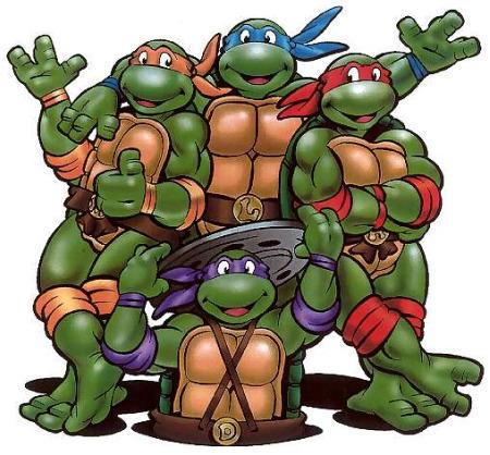 Bildergebnis für turtles namen und farben